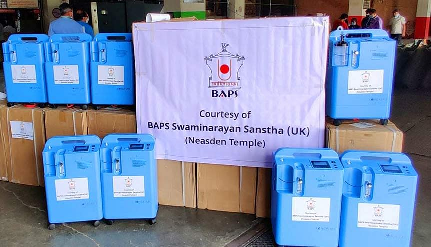 BAPS Swaminarayan Sanstha UK extends life-saving Covid mission to Nepal
