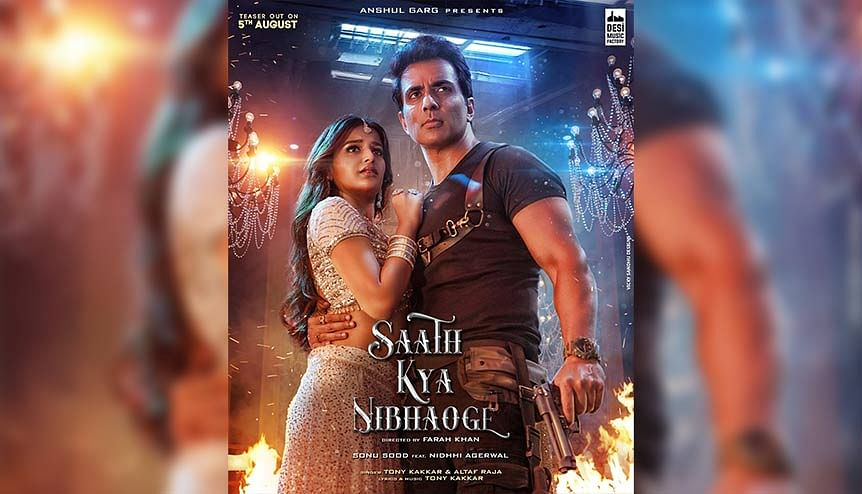 Bollywood star Sonu Sood drops #SaathKyaNibhaoge song teaser