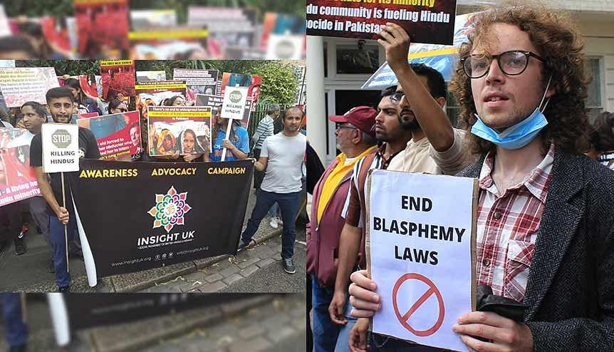 UK protest over 8-year-old Hindu boy's blasphemy turmoil in Pakistan