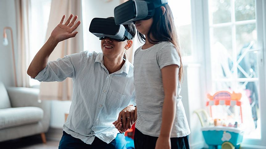 How virtual reality can be used to reduce pain, anxiety in children