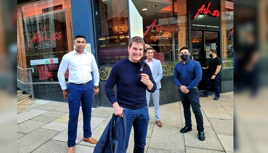 Mission Chicken Tikka Masala: Tom Cruise drops in at Asha's in Birmingham