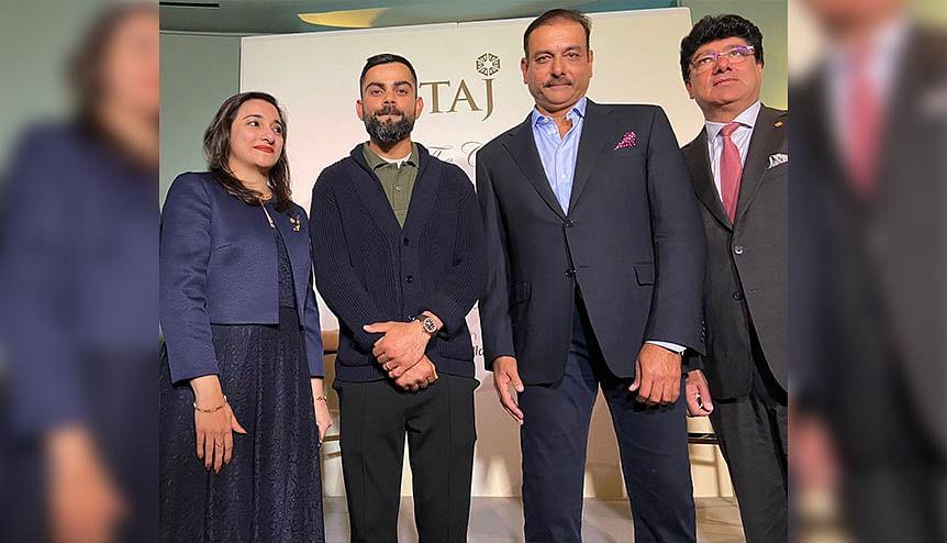 Indian cricket team open new Taj Chambers chapter in London