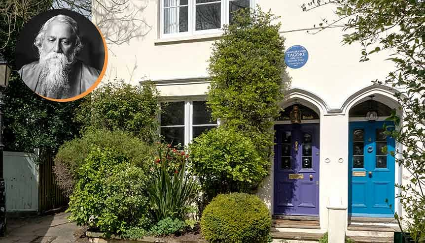 Indian Nobel poet Rabindranath Tagore's London home on sale