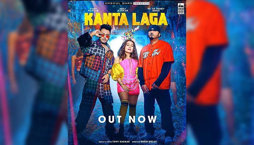 Neha Kakkar, Yo Yo Honey Singh collaborate for 'Kanta Laga' dance vibes