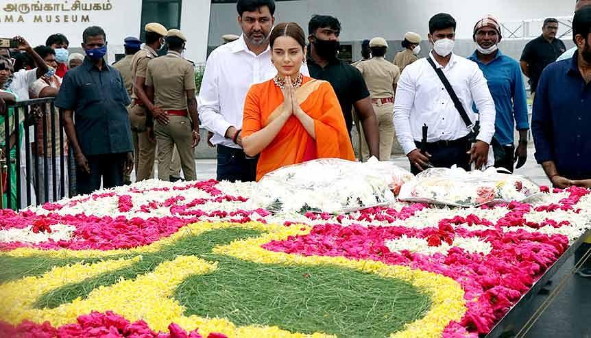 Kangana Ranaut furious over 'Thalaivii' release struggles in Indian cinemas