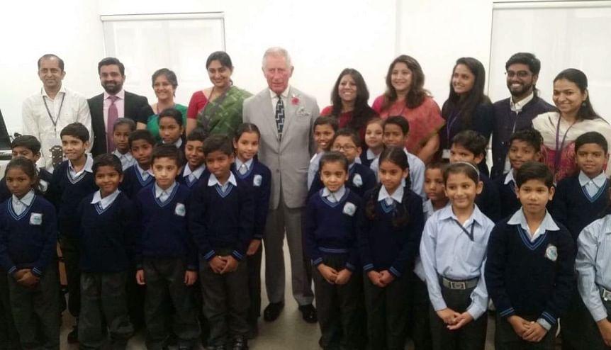 Prince Charles backs new education bond for India