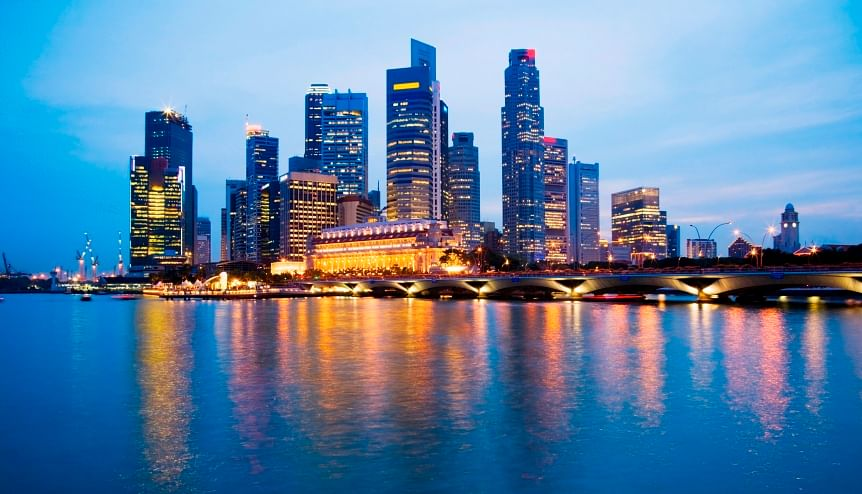 What makes Singapore a hub for Indian investments