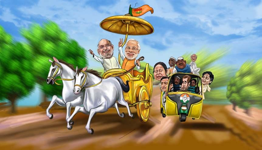 As politics moves to the centre-stage in India, the stakes are high at home and abroad