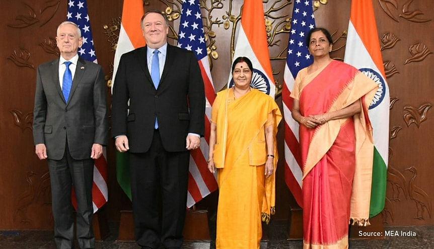 India-US 2+2 equals success