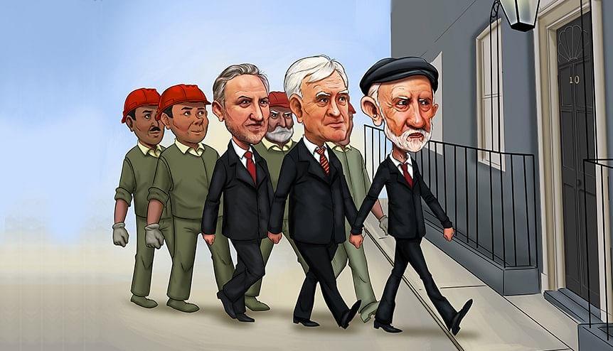 Dont ignore Comrade Corbyns march
