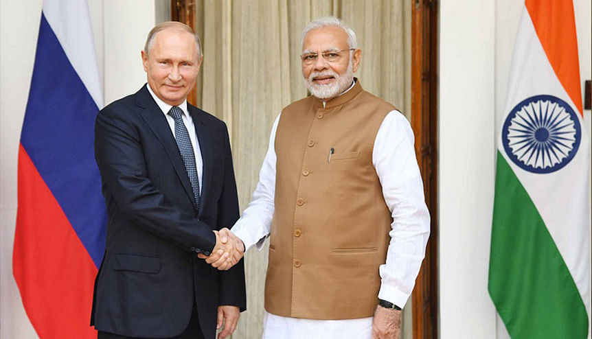 Trumps hardball pushes India closer to Russia