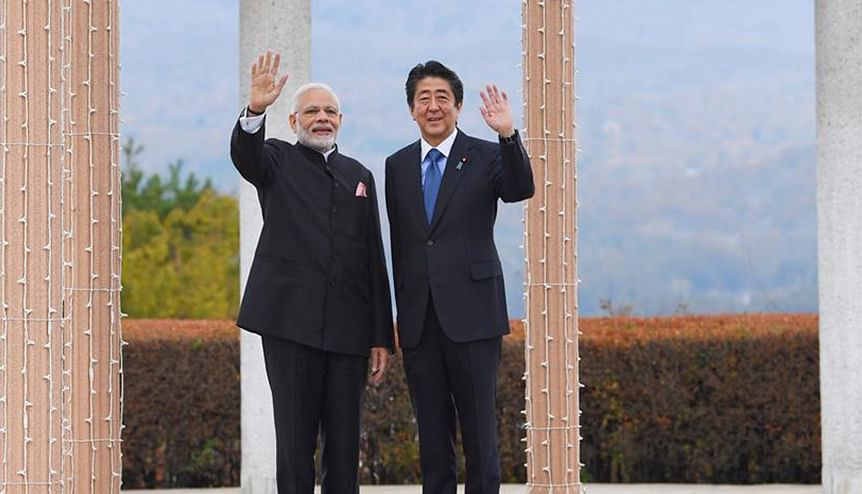 India-Japan: Convergence at the top but