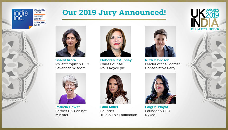 All-Women judging panel for UK-India Awards