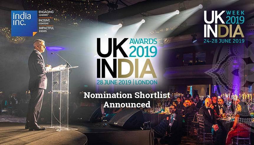 UK-India Awards 2019 Nominations Shortlist Announced
