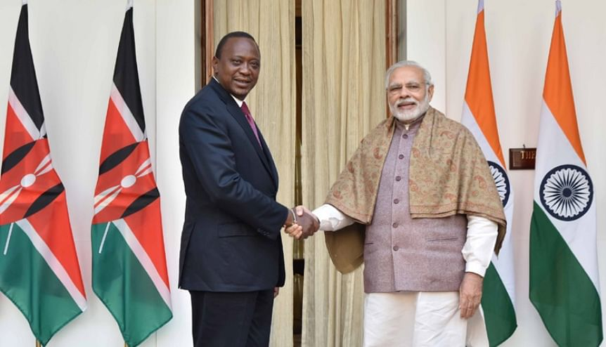 India sees big opportunities in Africa, a counterpoint to China