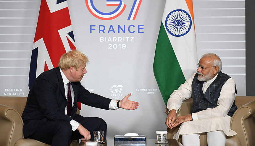 Does a no-deal Brexit bode well for UK-India ties