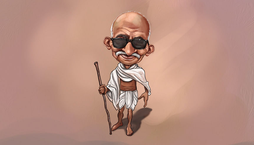Modi reinvents Gandhi as new age global icon