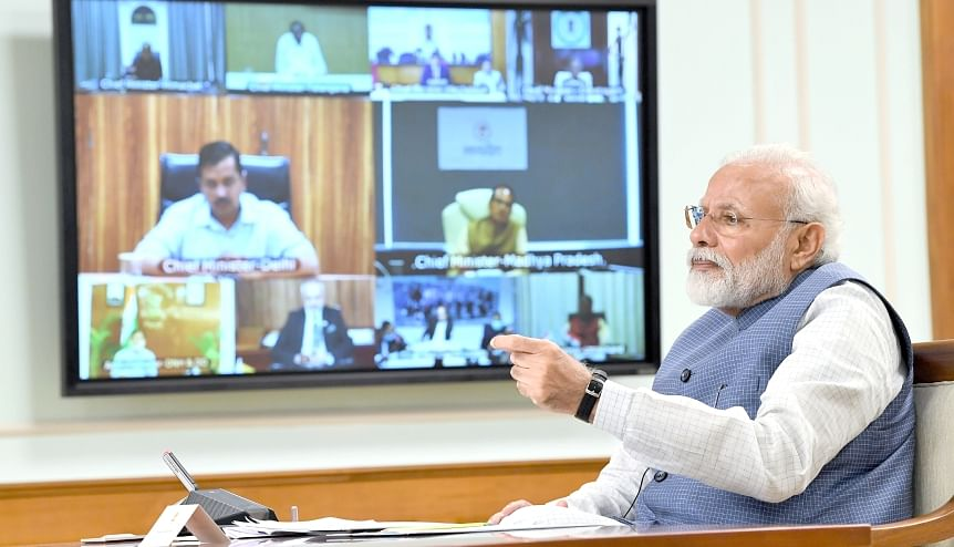 Modi lays out a post pandemic exit strategy