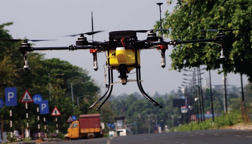 Drone operations, India's secret weapon against Covid-19