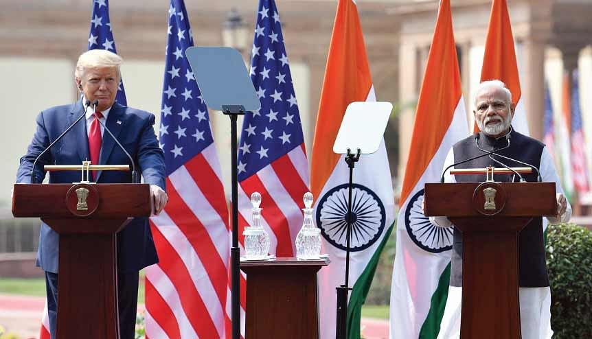 Under the shadow of the pandemic, India-US relations hit new highs