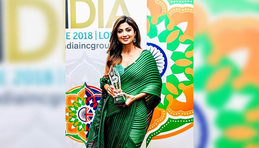 Bollywood star Shilpa Shetty invites investments in self