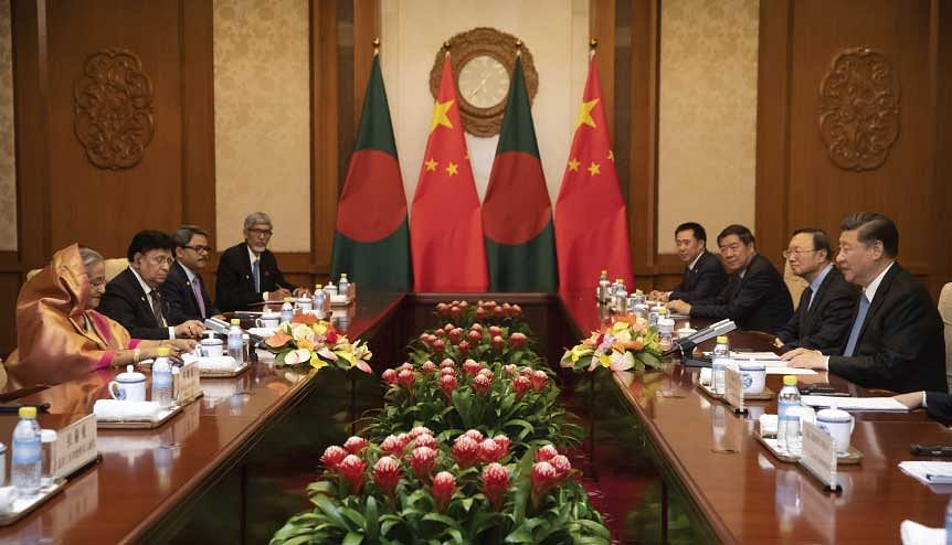 Bangladesh should be wary of China's recent announcement of a tariff exemption for 97 per cent of Bangladeshi products.