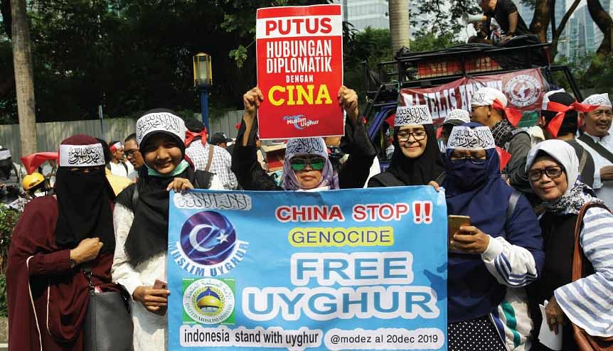 Bangladesh should take heed of China's ill-treatment of Uyghur Muslims, a clear indication of the communist government's disdain for minorities.