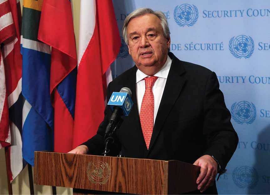The UN Secretary General critiqued the 'fragmented response' of nations to 'integrated problems' around the world.