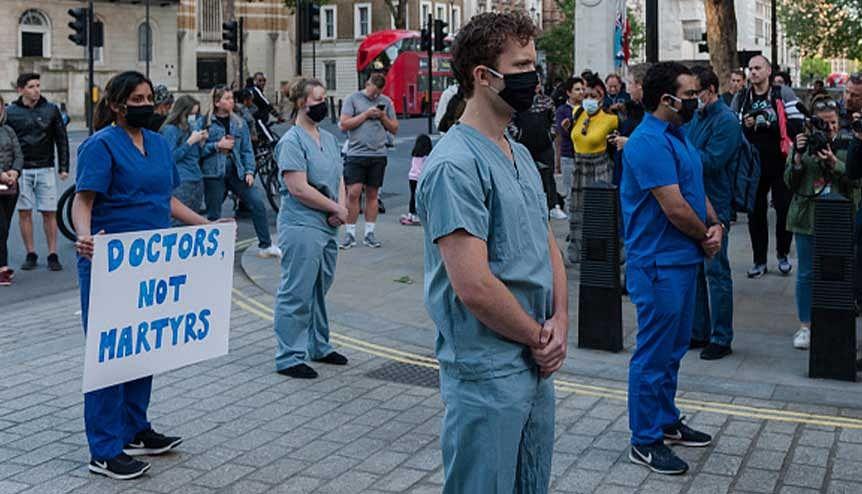 Global Indian doctors begin legal fight for safe PPE