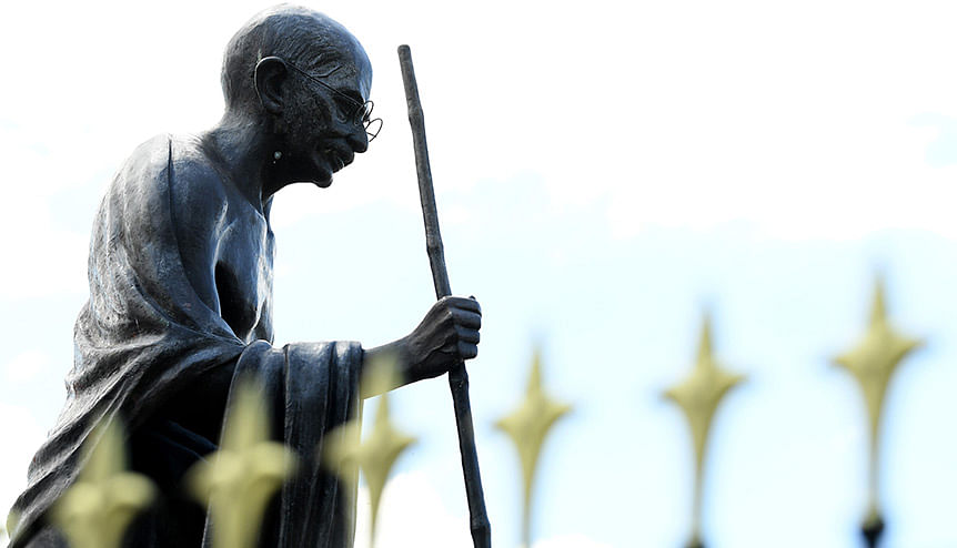 Global Indians unite to save Gandhi statue in Leicester