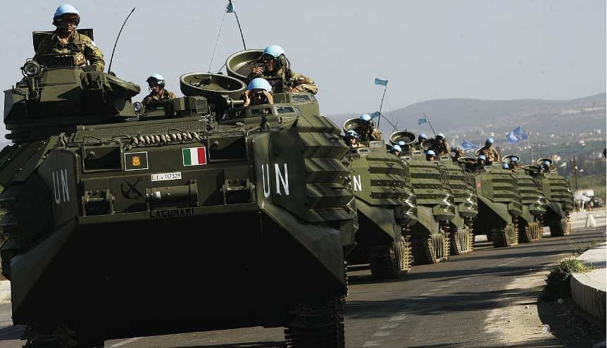 UN forces on a mission in Lebanon. There has been an upsurge in nationalism, due to multiple reason, in countries, but the way forward will be collaboration which is why the UN must reform.