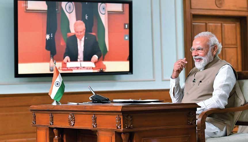 Modi, Morrison close ranks against Chinese antics