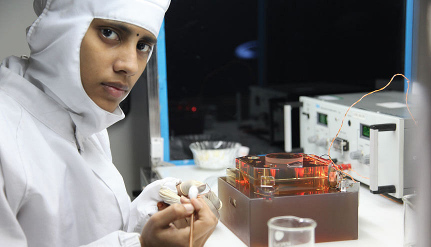 ISRO is currently working on developing quantum computing for satellite communication.
