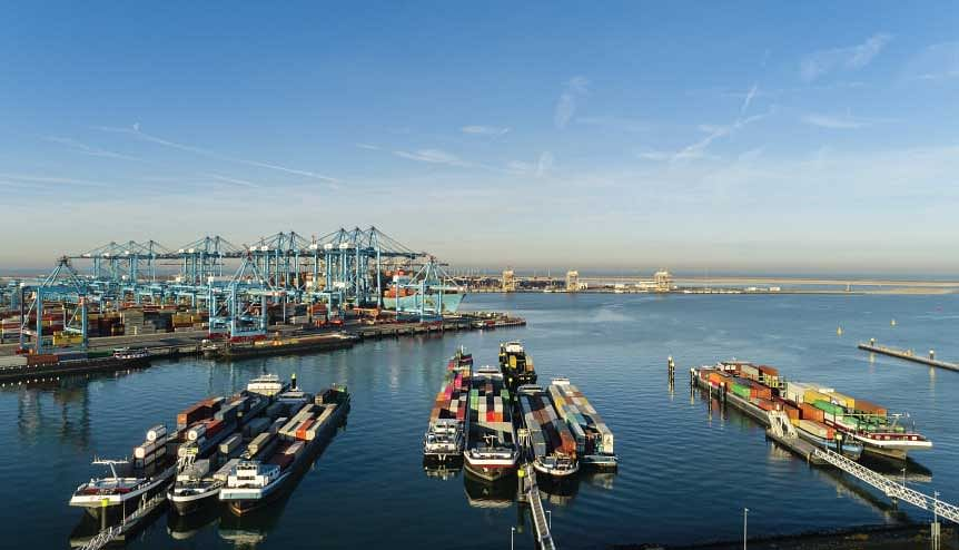The Rotterdam port is the central hub of Europe's largest maritime cluster, offering businesses a strategic entry to the rest of the continent.