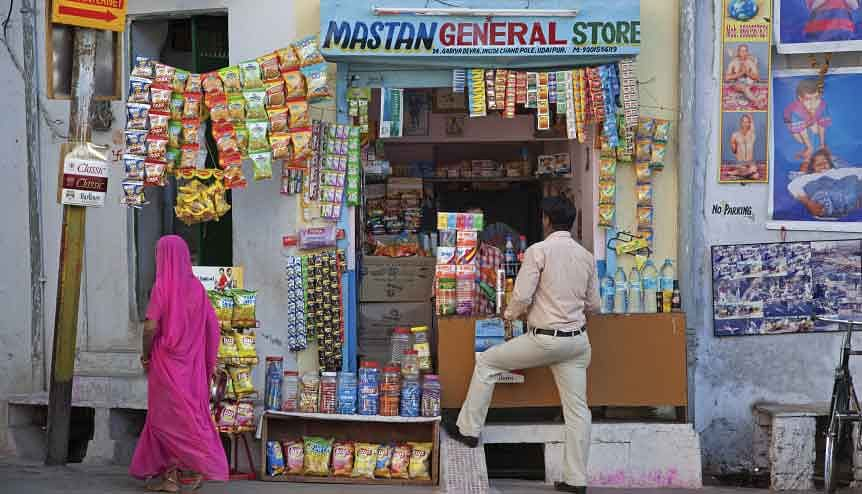 The advent of Reliance's model of using Kirana stores as mini storefronts for online orders will help increase the reach of e-retailers within the country.