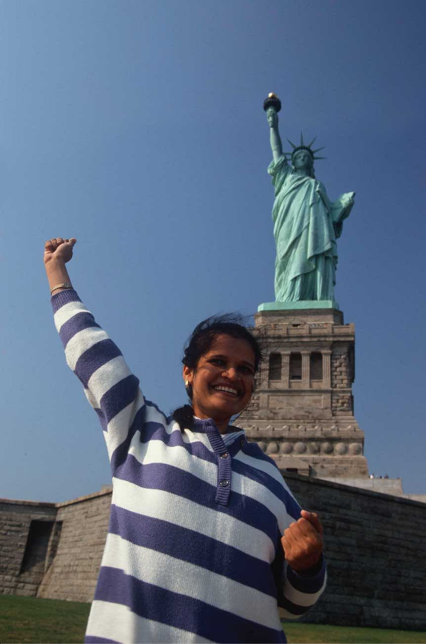 The US continues to be a preferred destination for Indian tourists.