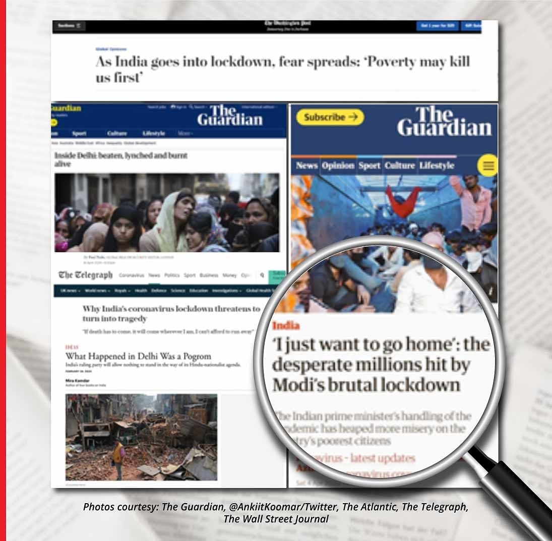 The western media has on more than one occasion propagated inaccuracies, false accusations or outright lies about India in a quest for higher ratings and spike in digital readership.
