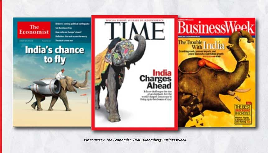 The Western media continues to view India through the prism of Orientalism, imagining it as the land of elephants and snake charmers.