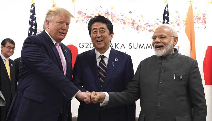 Modi's diplomatic outreach and popularity with countries like the US, Japan and Australia has helped reimagine the possibilities of global diplomacy vis-à-vis the region.