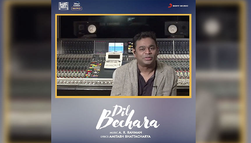Dil Bechara reflects A.R. Rahmans musical message of positivity