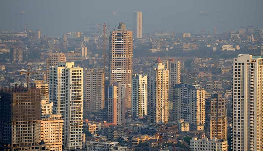 Aerial view of Mumbai city. India's massive infrastructure spending spree has transformed several critical sectors.
