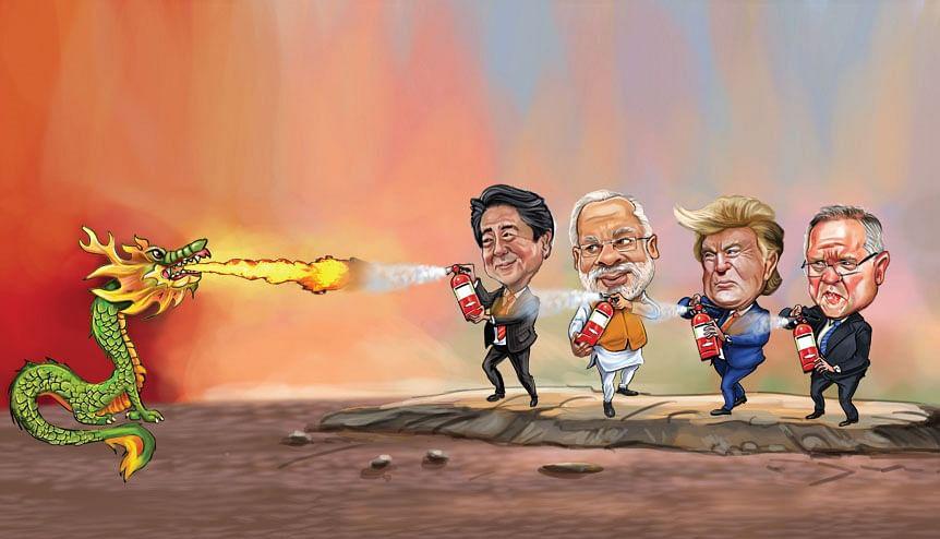 India's strength QUAD-ruples against China