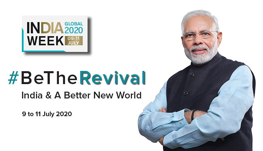 Indian PM Modi to lead #BeTheRevival message at India Global Week