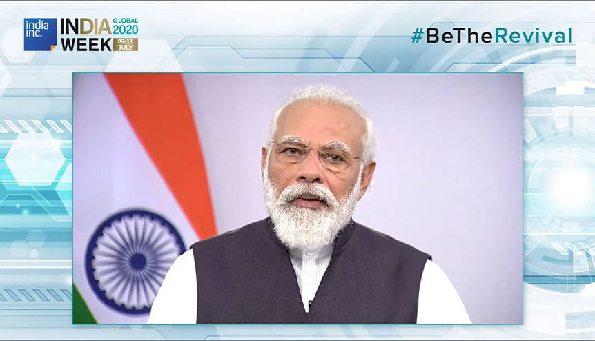 #BeTheRevival: PM Modi lays out the way for India and a better new world