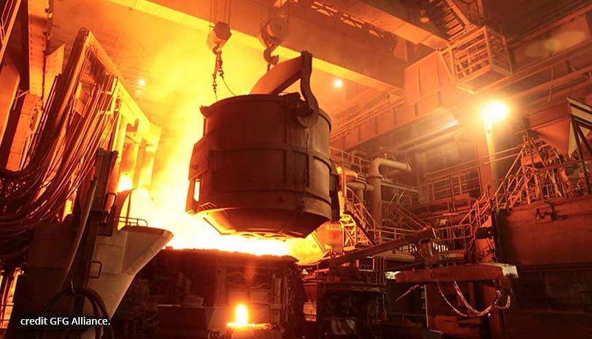 GFG Alliance has come up with a method of using surplus scrap metal and melt it down in furnaces which can be powered with renewable fuels.