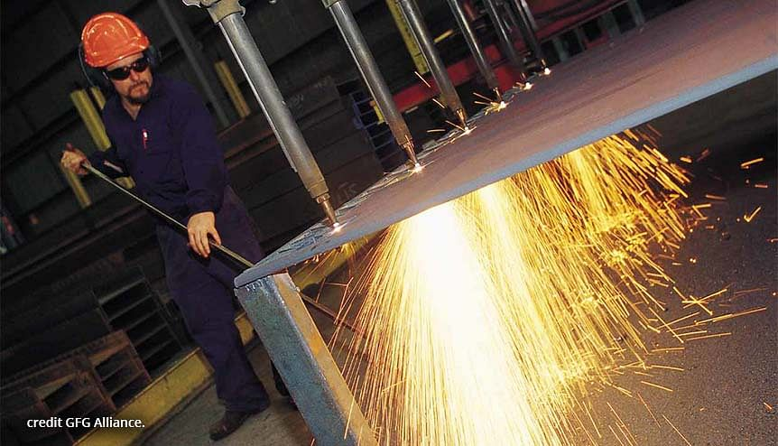 GFG Alliance produced GREENSTEEL is based on recycling and on hydrogen steel.