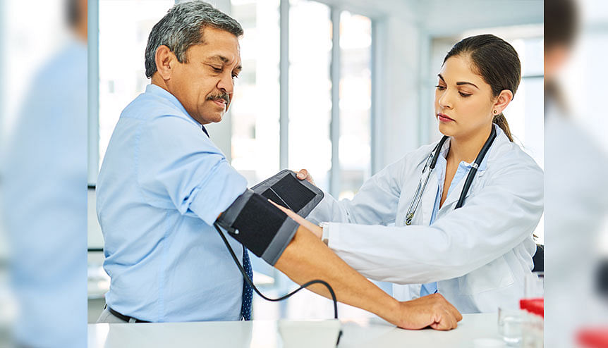 Mens income levels link up with high blood pressure: Study