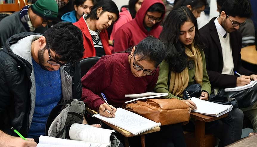 India's goal for increasing the enrolment ratio to 50 per cent by 2035 from 26 per cent now will need huge improvements in the infrastructure.