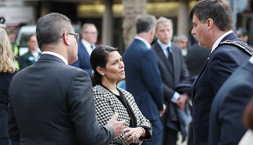 Priti Patel wants more diversity, compassion at UK Home Office