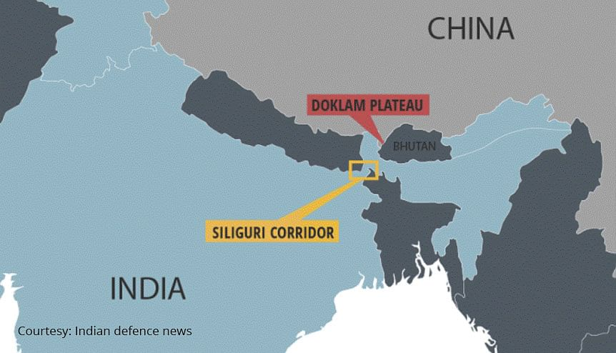 Better connectivity between the Bangladesh and India means that the Indian armed forces will no longer have to depend solely on the Siliguri Corridor for transporting goods should a conflict arise.